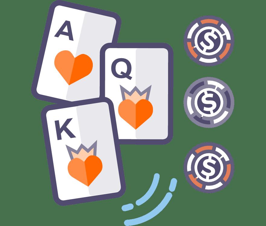 Gioca a Three Card Poker dal vivo