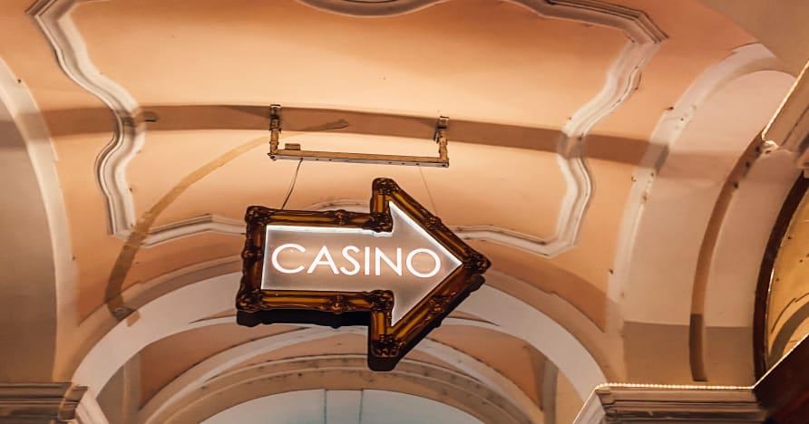 Gioco d'azzardo in un casinò dal vivo